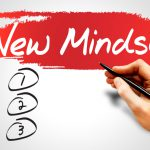 New Mindset blank list, business concept