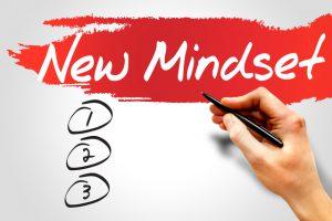 New Mindset blank list, business concept